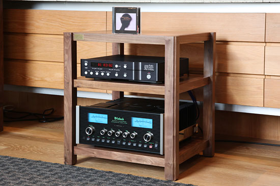 JBL 4344 with Walnut Stands and Rack
