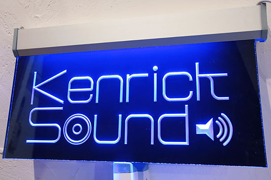 KENRICK SOUND サインプレート