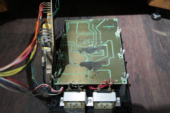 T様 JBL 4345 内部配線変更